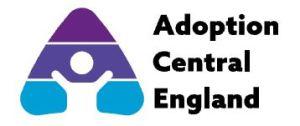 Adoption Central England Logo